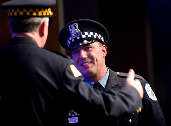 Chicago Police Officer Jeffrey S. Pacocha receives Police Department's highest honor today. Alex Garcia, Chicago Tribune