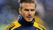 David Beckham will leave the L.A. Galaxy after next month's MLS Cup final but intends to continue his playing career.