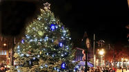 Hagerstown Christmas tree-lighting ceremony