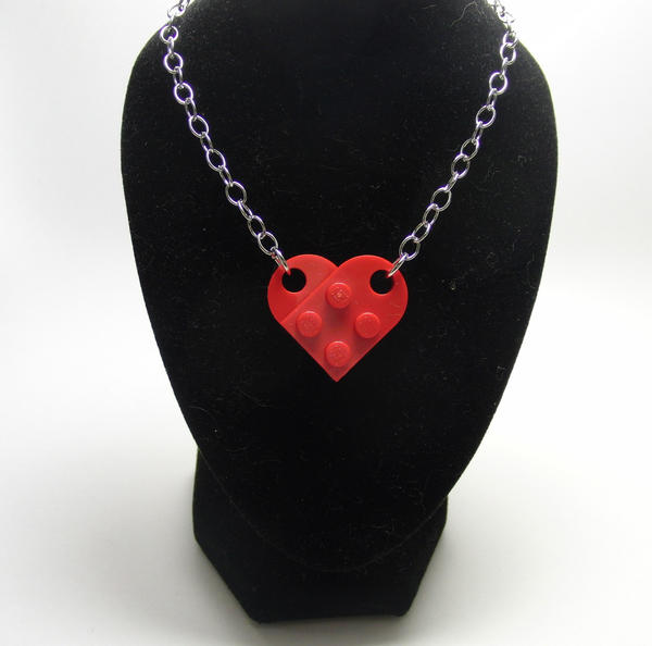 "Children of the 1980s will like everything here, from the old-school Nintendo goods (green 1-up Mario mushroom ornament) to this Lego heart necklace ($6), a best-seller. <a href=""http://www.etsy.com/shop/gumballninja"" target=""new"">etsy.com/shop/gumballninja</a>"