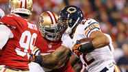 Week 11 photos: 49ers 32, Bears 7