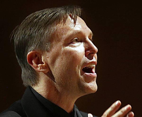 Grant Gershon is the music director of the Los Angeles Master Chorale.
