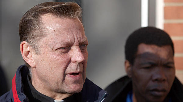 The Rev. Michael Pfleger earlier this year.