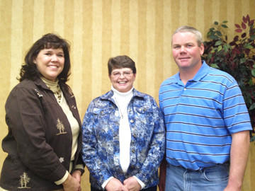The 2012-13 Brown County 4-H Leaders Association officers are, from left: Kathy Sperry, vice president; Brenda Artz, secretary; Mike Frey, president; and Ellen Schlosser, treasurer (not pictured).
