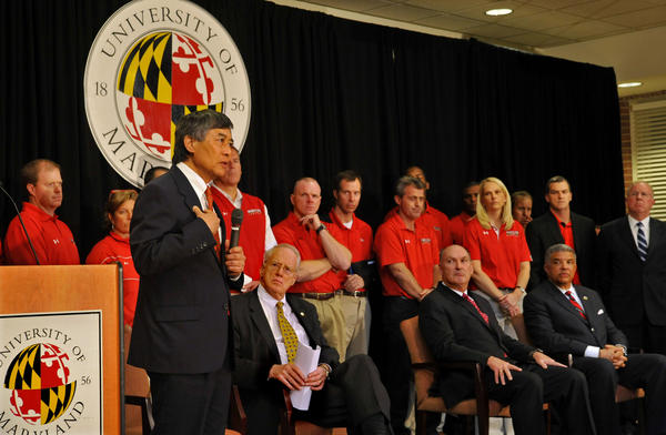University of Maryland president Wallace Loh explains the school's decision to join the Big Ten conference.