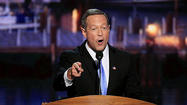 O'Malley postpones Middle East trip