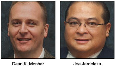 Dean K. Mosher and Joe Jardeleza recently were hired by ThompsonGas.