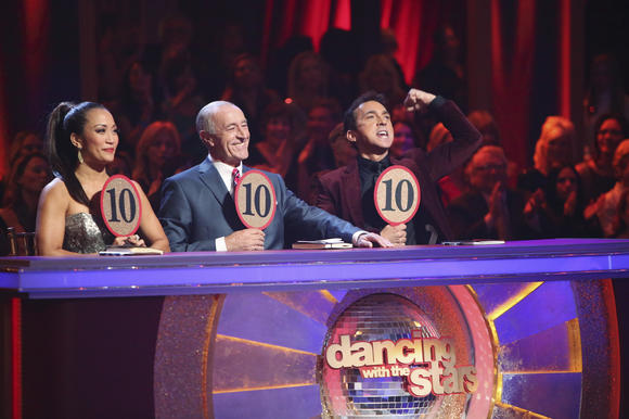 Dancing with the Stars judges shot