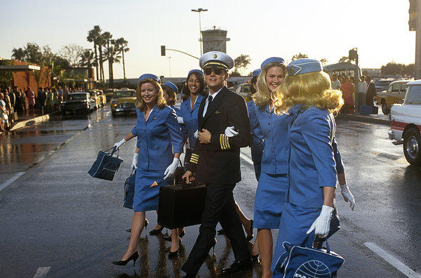 "In a child's mind, this is one of the best jobs ever. In the film ""Catch Me If You Can,"" however, Leonardo DiCaprio's character is just posing as an airline pilot."