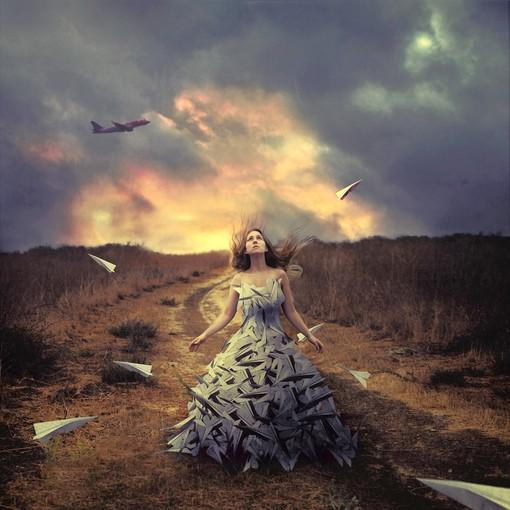 """Waiting to Fly,"" by Brooke Shaden."