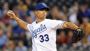 The Royals have signed right-hander Jeremy Guthrie to a $25 million, three-year deal, adding another piece to what should be a retooled starting rotation next season.