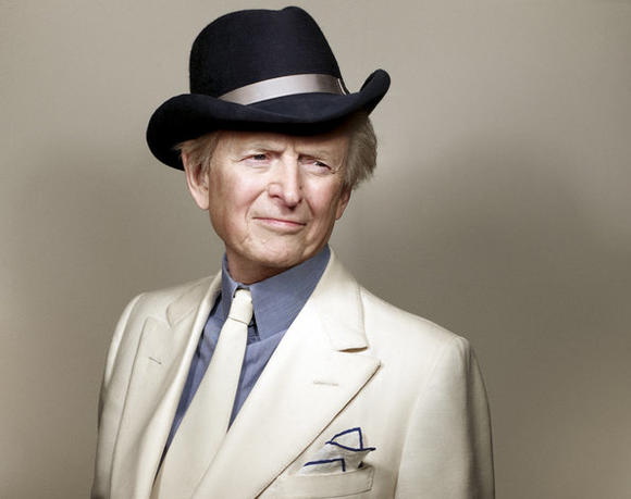 "Tom Wolfe, author of ""Back to Blood"""