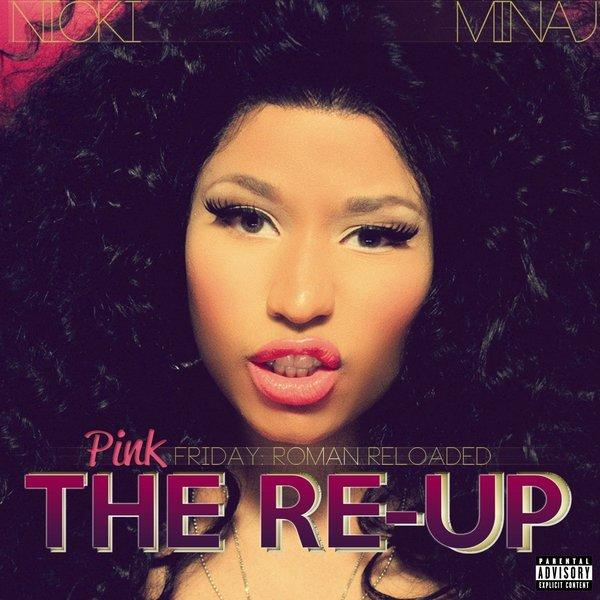"Nicki Minaj's latest, ""Pink Friday: Roman Reloaded -- The Re-Up."""