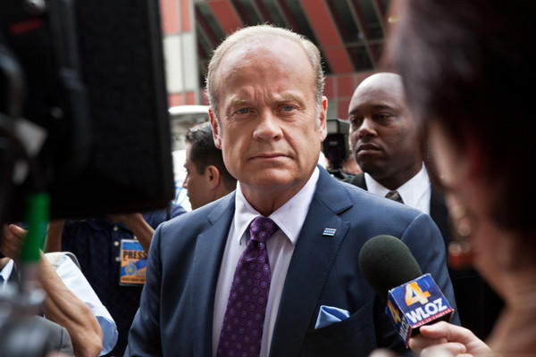 "Kelsey Grammer as Chicago Mayor Tom Kane in ""Boss."""