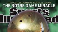 Notre Dame football is back on Sports Illustrated's national cover for the first time since Maurice Stovall made it in 2002.