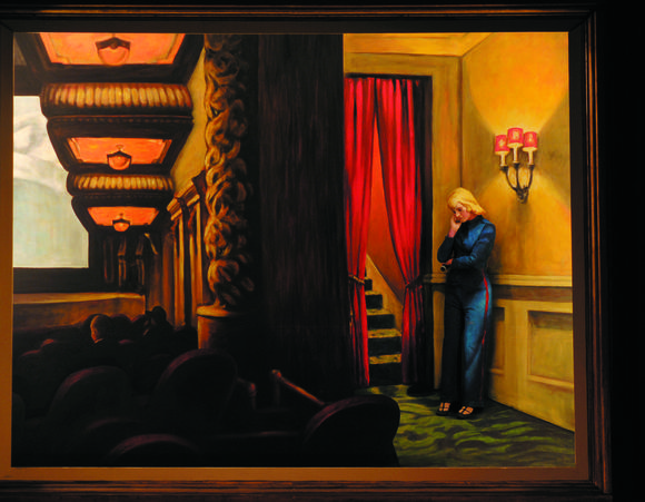 """New York Movie"" by Edward Hopper will be re-created in the 2013 Pageant of the Masters show ""The Big Picture."""