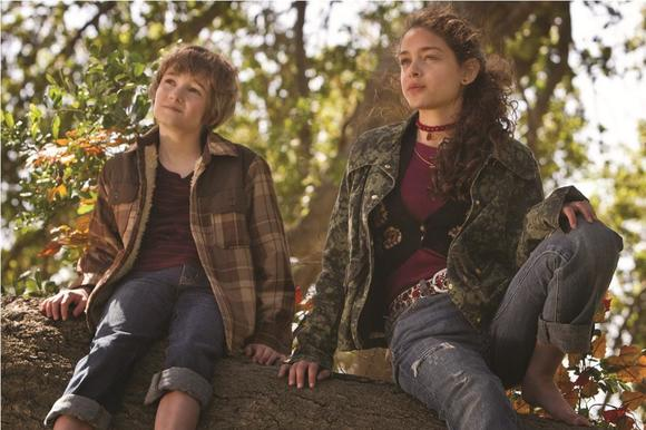 "Timothy Green (CJ Adams, left) and Joni Jerome (Odeya Rush, right) form a special bond when each of them reveals their deepest secrets in ""The Odd Life of Timothy Green."""