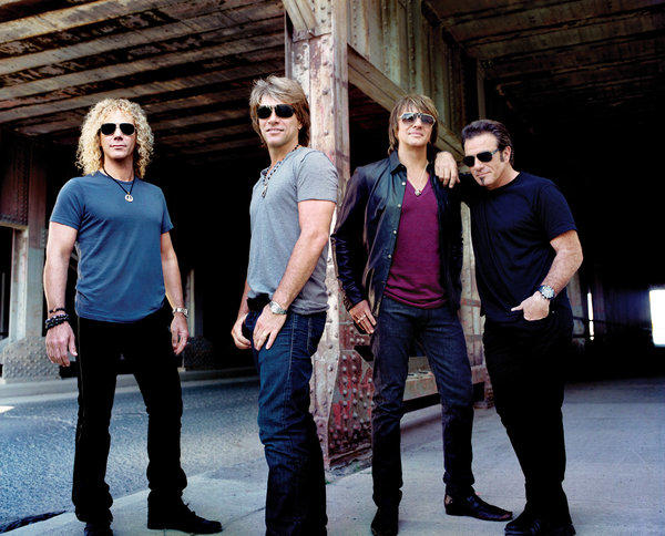Bon Jovi will tour the United States in 2013, including a stop at L.A.'s Staples Center on Apr. 19.