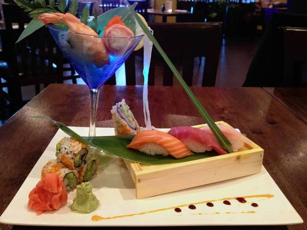 Food find: Sushi Lunch at Saisaki Asian Bistro