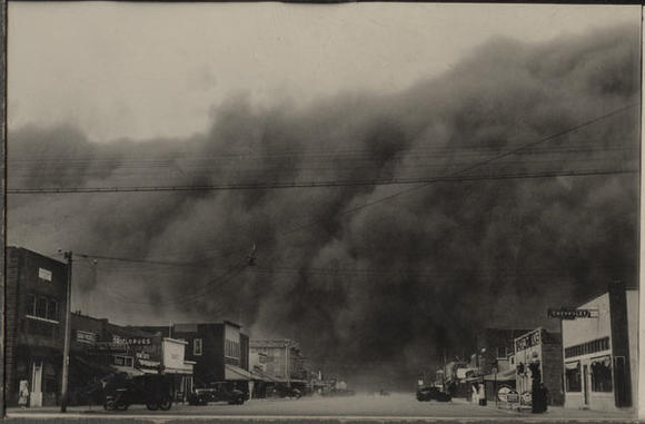 Photo from Ken Burns' 'The Dust Bowl.'