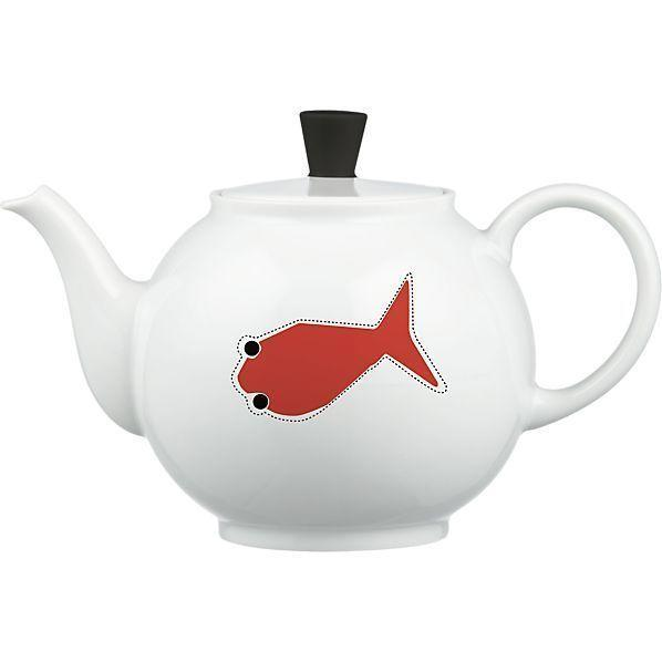 Crate & Barrel releases a limited edition of designer teapots.