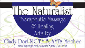 The Naturalist - Therapeutic Massage and Healing Arts - Gift Certificates Available