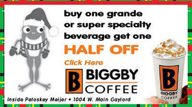 Biggby Coffee - Buy One Grande or Super Specialty Beverage Get One Half Off