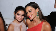 """Modern Family"" cast members Ariel Winter and Sofia Vergara in 2011."