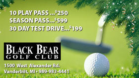 Black Bear Golf Club - 10 Play Passes, Season Passes, 30 Day Test Drives