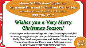 Mason & Mills Auto Supply, Inc. - Wishes you a Very Merry Christmas Season!