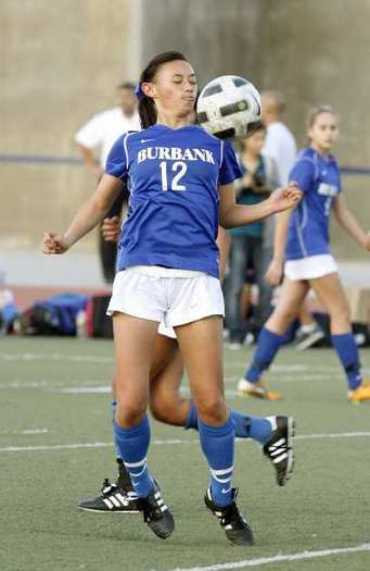 Alessia Dal Monte is a key returner for the Burbank High girls' soccer team.