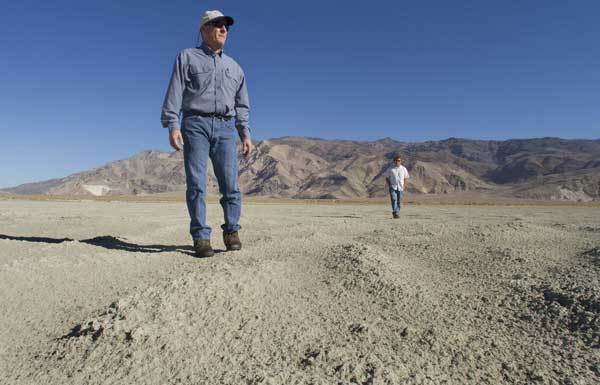 "Air quality regulators have told the DWP that it must do more to control dust arising from the dry Owens Lake bed about 200 miles north of Los Angeles. ""It's a complete victory,"" says Ted Schade, above, whose agency had called for more pollution controls."