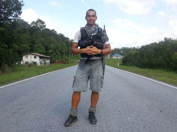 Winston Fiore just completed a 5,000-mile trek through Southeast Asia. He relied on walking directions from Google Maps.