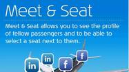 KLM employs socially networked seat selection