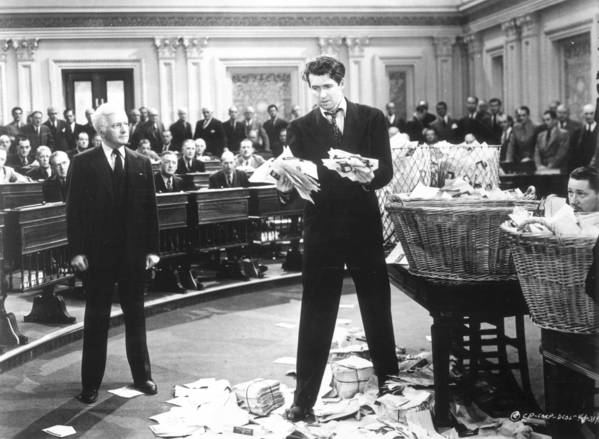 "For years, U.S. senators have argued over reforming the filibuster, which actor Jimmy Stewart, center, made famous in the 1939 movie ""Mr. Smith Goes to Washington."" Now, a plan to limit its use may have enough votes for approval."
