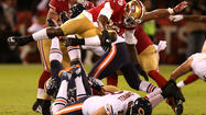 The 49ers defeated the Bears every way a team can be beaten Monday night — power, speed and thought.