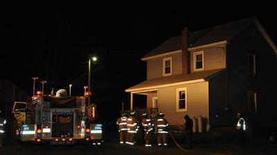 The Salisbury fire department responded to a house fire along Route 219 in Salisbury. The fire was quickly extinguished without injuries or major damage.