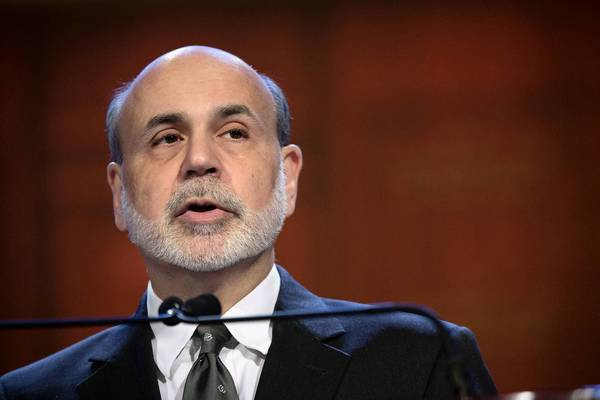 "Fed Chairman Ben Bernanke said Tuesday that failure to avoid the ""fiscal cliff"" would pose a threat to the economic recovery."