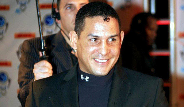 "Hector ""Macho"" Camacho arrives for an event in Miami Beach."