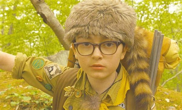 "Newcomer Jared Gilman stars as Sam in ""Moonrise Kingdom."""