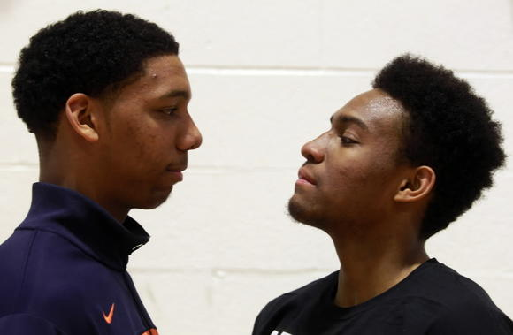Young junior Jahlil Okafor is content being his good friend Jabari Parker's  shadow.
