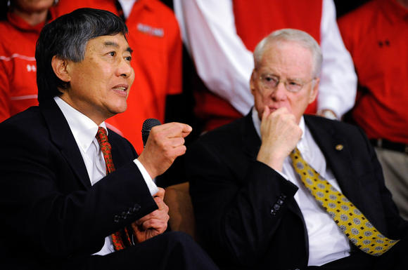 Wallace Loh announces Maryland move to Big Ten