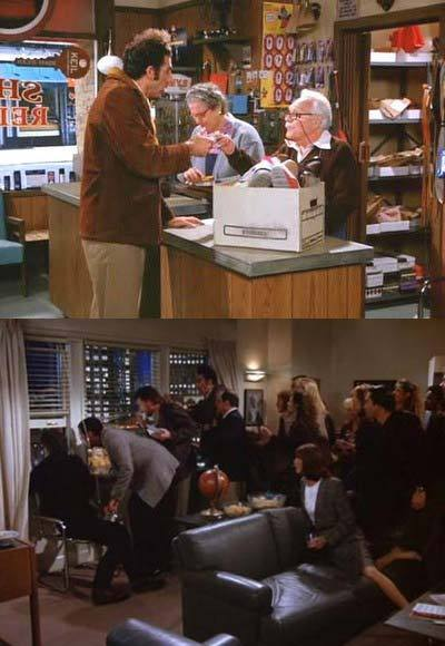 25 classic Thanksgiving TV episodes and specials: Thanksgiving is a time to count your blessings, right? Not if youre Jerry and the gang. Instead, its a time to realize small business owners can be duplicitous, and to blow a hole in a Macys Thanksgiving Parade balloon. Thanks a lot, Jer.