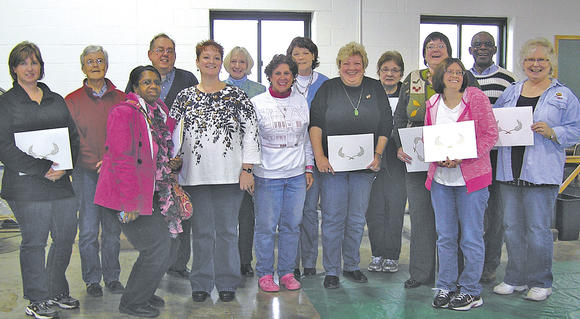 Library employees recognized