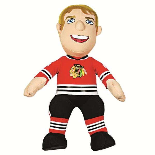 Hockey might be on strike, but it doesn't mean your fandom has to stay on ice.  These plush dolls, which come in both Patrick Kane and Jonathan Toews models, are sure to bring a smile to any Blackhawks fan's face.