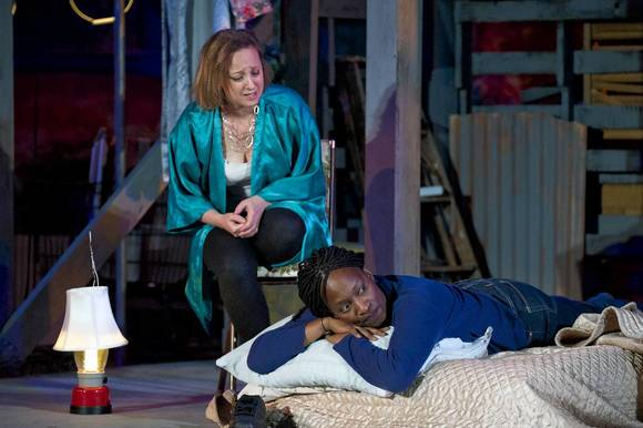 "Jennifer Avery and Lily Mojekwu in ""Welcome Home, Jenny Sutter."""