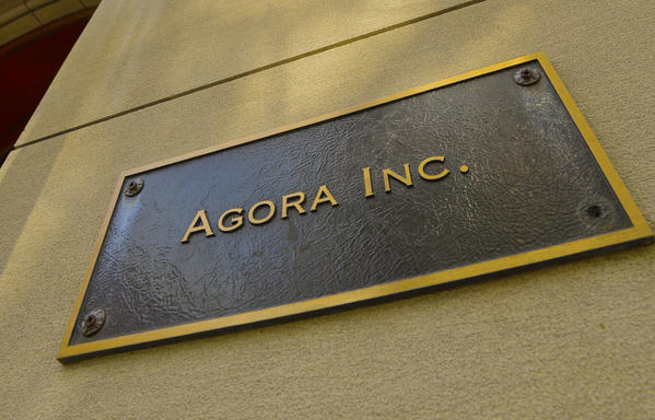 Agora Inc. is a holding company for publishers of more than 300 books and 40 newsletters on topics both practical and abstract, from how to get the best price on a flight to the relationship between man and the state. Agora has outposts in Johannesburg, South Africa; Mumbai, India; and other far-flung locales, but its company headquarters is in Baltimore, where its 427 employees work in nine elegant 19th-century mansions in Mount Vernon. The company's employee benefits package includes company-matched 401(k) and Roth retirement accounts as well as a self-directed brokerage account. Employees can take advantage of personal training at the company's on-site gym and attend company-sponsored events at some of the neighborhood's most beautiful spots, such as the Engineer's Club and the Mount Vernon Club.