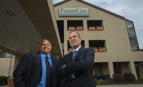 For the second year in a row, FutureCare -- a private company founded in 1986 and based in Pasadena -- placed first on The Baltimore Sun's Top Workplaces list among large companies in the Baltimore region. Members of FutureCare's staff said that part of the company's continued success in the WorkplaceDynamics survey is because of internal opportunities for advancement. The potential for upward mobility, experts agree, plays a role in keeping employees satisfied. Stories of advancement are common among FutureCare's roughly 2,500 employees. The company prides itself on the opportunities for growth at its 12 Baltimore-area skilled nursing centers.
