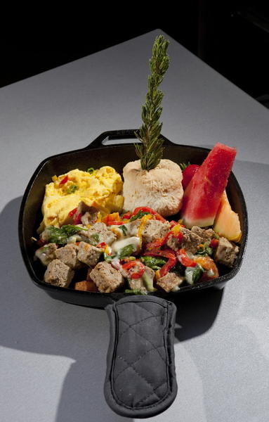 "Meatloaf hash at <a href="""" targhttp://chicago.metromix.com/venues/mmxchi-hash-house-a-go-go-venueet=""_"">Hash House A Go Go, 1212 N. State Pkwy.</a>."