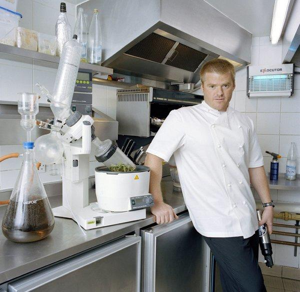Heston Blumenthal is the famous British chef behind the Fat Duck restaurant.